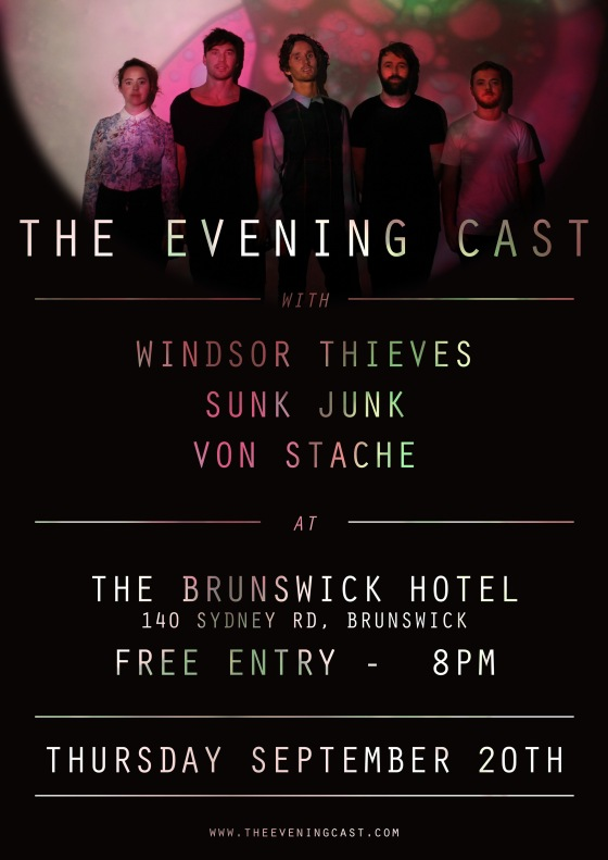 MELBOURNE SHOW ANNOUNCED // BRUNSWICK HOTEL