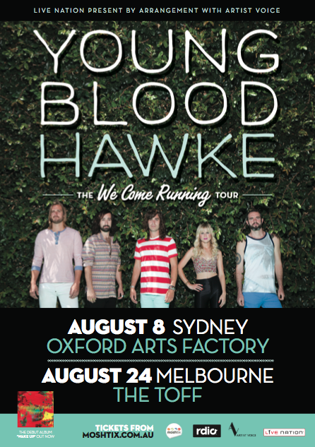 Youngblood Hawke // National Tour Support