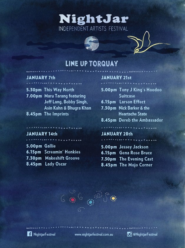 NightJar Festival 28th Jan
